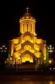 picture of trinity  - The Holy Trinity Cathedral of Tbilisi Sameba - JPG