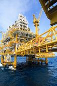 picture of offshore  - Construction platform for production energy - JPG