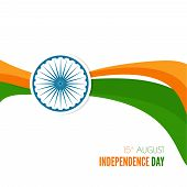 foto of indian independence day  - Abstract background with the symbol of India - JPG
