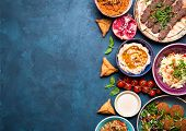 Arabic Dishes Background poster