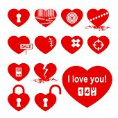 picture of gash  - Hearts set  - JPG