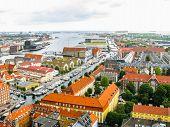 Hdr Copenhagen Denmark poster