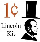 Everything you need to make your own Lincoln-related images. Great for 1 cent sales. Or make plans f