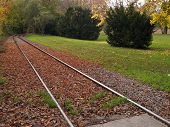 picture of freightliner  - old railway in the black forest - JPG