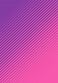 A Pink And Purple Fading Line Pattern Background poster