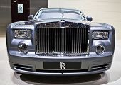 GENEVA - MARCH 7: Rolls Royce Phantom extended base shown on display at the 79th International Motor