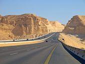 pic of riyadh  - Road in the desert - JPG