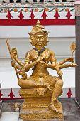 foto of brahma  - Beauty of Brahma image at wat - JPG
