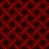 Warp red lines seamless background - pattern for continuous replicate.