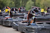 pic of karts  - The image of go - JPG