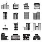picture of school building  - Icons city buildings - JPG