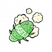 pic of woodlouse  - cartoon bug - JPG