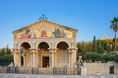 stock photo of gethsemane  - The Church of All Nations  - JPG