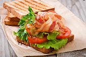 image of baps  - hot big sandwich - JPG
