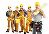 stock photo of people work  - Industrial workers people - JPG