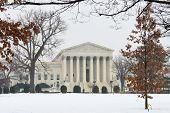 pic of supreme court  - Washington DC in Winter  - JPG