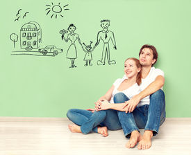 stock photo of family planning  - concept - JPG