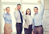 stock photo of office party  - business - JPG
