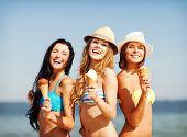 stock photo of beach holiday  - summer holidays and vacation  - JPG