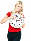 Постер, плакат: Time Management Concept Summer Time Daylight Saving Time