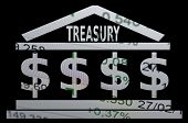 foto of treasury  - Financial concept - JPG
