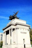 Постер, плакат: Quadriga on Wellington Arch