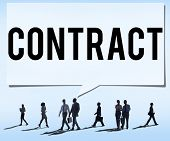 foto of bartering  - Contract Deal Agreement Negotiation Commitment Concept - JPG
