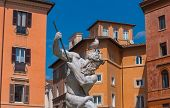 Постер, плакат: The Fountain of Neptune Italy