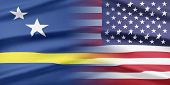 stock photo of curacao  - Relations between two countries - JPG