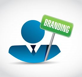 stock photo of avatar  - branding avatar business sign concept illustration design graphic - JPG