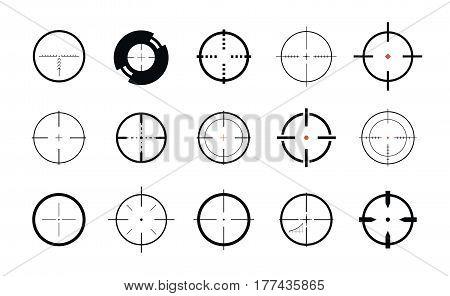 Sniper sight symbol