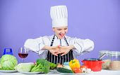 Cooking Healthy Food. Fresh Vegetables Ingredients For Cooking Meal. Lets Start Cooking. Woman Chef  poster