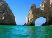 picture of cortez  - El Arco near Los Cabos at the southern tip of Baja California Mexico  - JPG