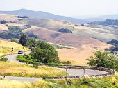 image of apennines  - Landscape of the hills of Tuscan - JPG