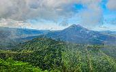 picture of gunung  - Volcano mount Gunung Batur Kintamani Bali Indonesia - JPG
