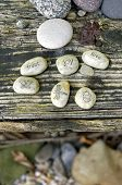image of nouns  - word stones - JPG