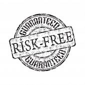 Risk free rubber stamp