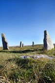 Ancient Standing Stones On The Isle Of Lewis