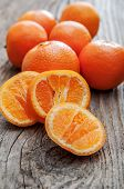 Fresh And Juicy Mandarin Fruits