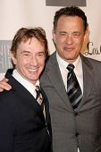 Martin Short and Tom Hanks  at the Annual Backstage At The Geffen Gala. Geffen Playhouse, Los Angele