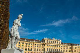 image of schoenbrunn  - Vienna - JPG