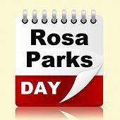 picture of rosa  - Rosa Parks Day Representing Civil Rights And Reminder - JPG