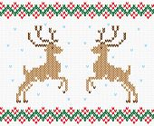 foto of winterberry  - Christmas ornament winter deer - JPG