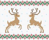 image of winterberry  - Christmas ornament winter deer - JPG