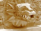 Head Of Quetzalcoatl