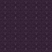 pic of x-files  - Christmas patterns design with purple background - JPG