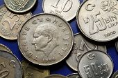 foto of turkish lira  - Coins of Turkey - JPG