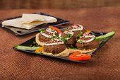 pic of meatballs  - Arab food - JPG