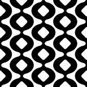 image of curves  - Seamless Curved Shape Pattern - JPG