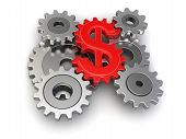 picture of snatch  - Cogwheel dollar - JPG